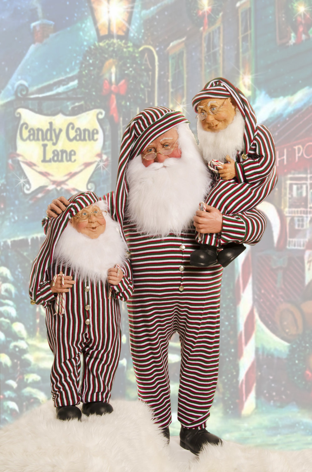 Candy Cane Lane Santa with Elves.jpg