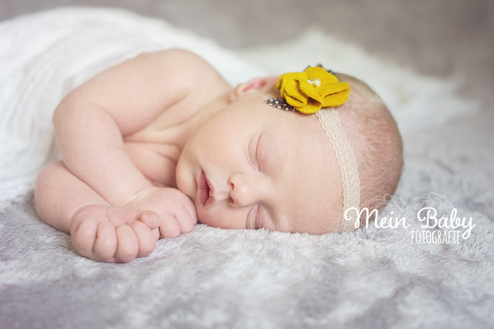 Neugeborenen-Fotografie in München