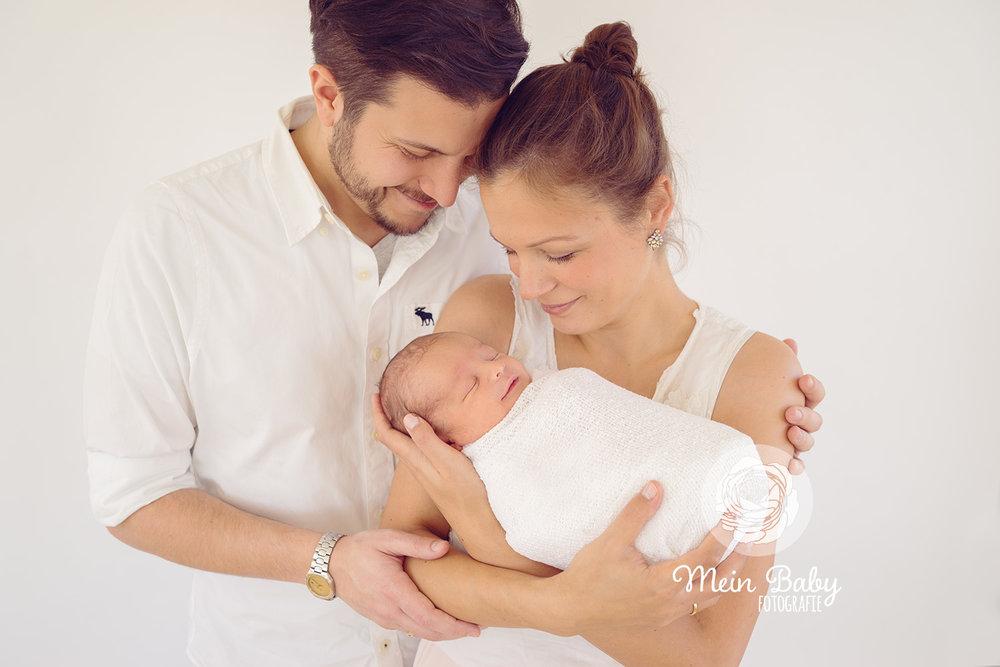 Babyfotos Neugeborenenfotos München