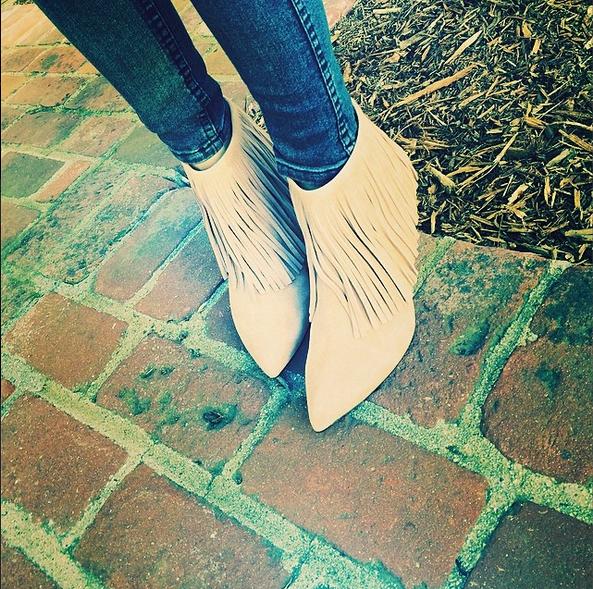 Catt Sadler Cattwalk Fringe Boots Fashion