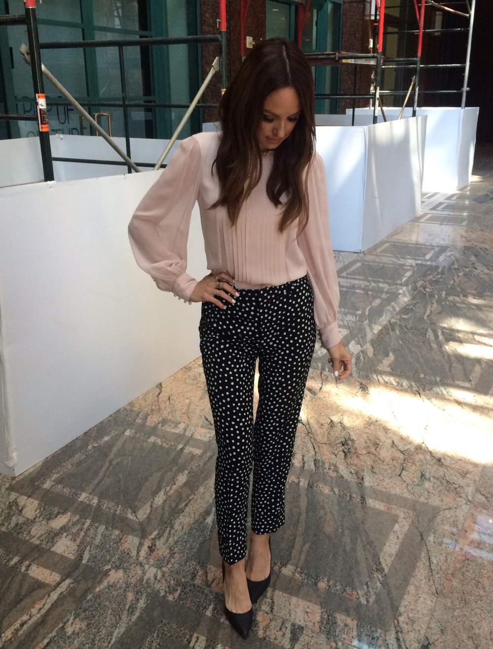 Catt Sadler Cattwalk E News Fendi Alice Olivia Rachel Roy OPI