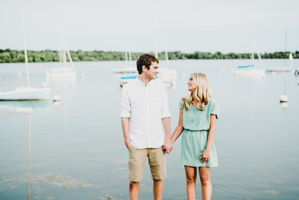 Lake Harriet Minneapolis Engagement Photographer Ali Leigh
