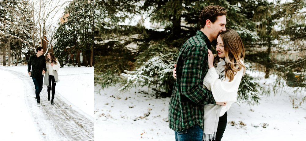 Minnesota Winter Engagement Session