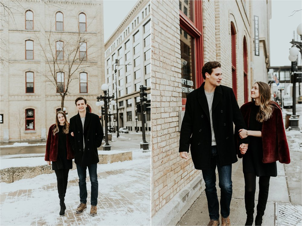 Lowertown St Paul Engagement Session