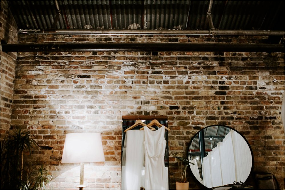 industrial wedding venue and dress minneapolis