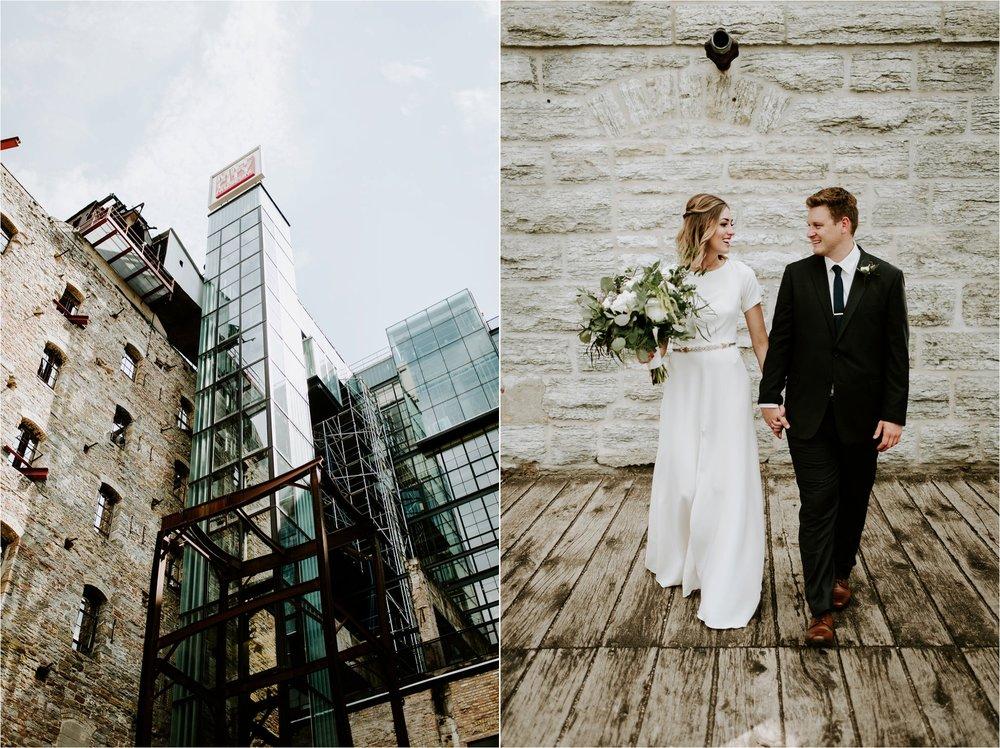 mill city museum wedding photographer