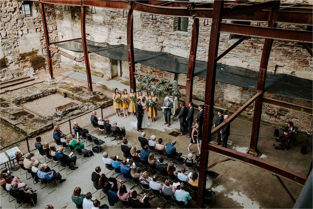 mill city museum wedding ceremony