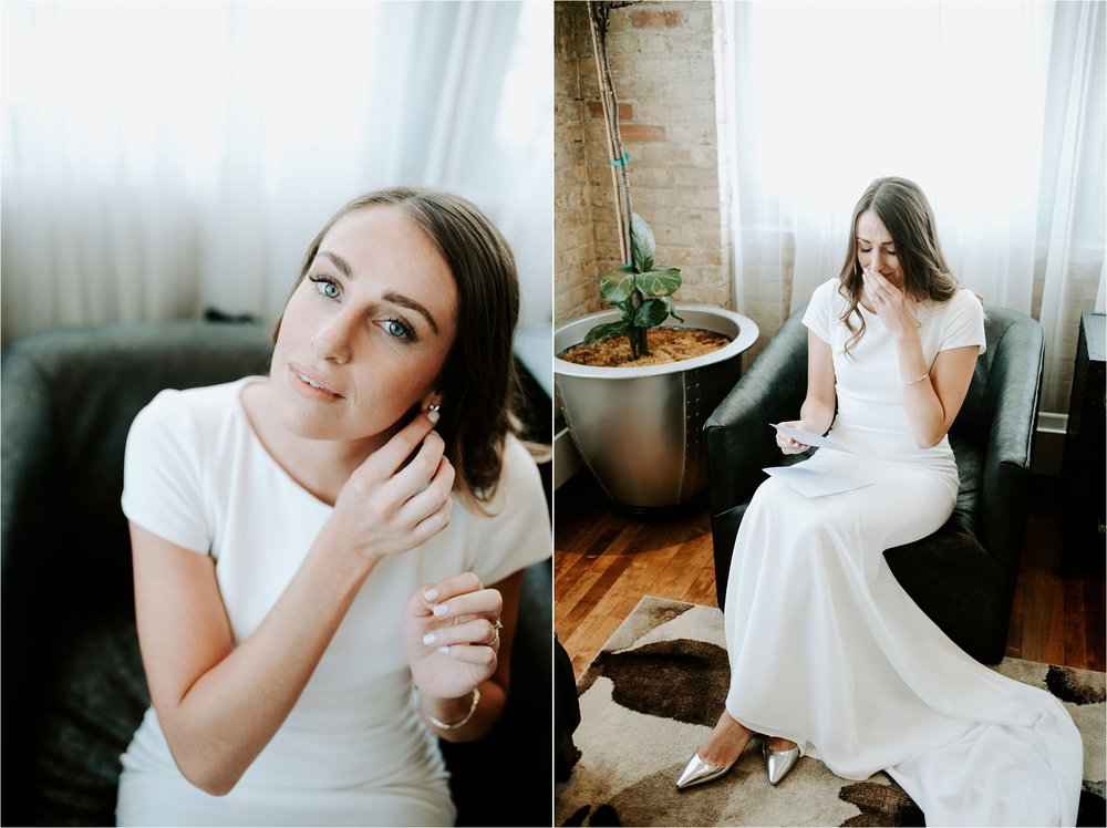 bride getting ready shots minneapolis photographer