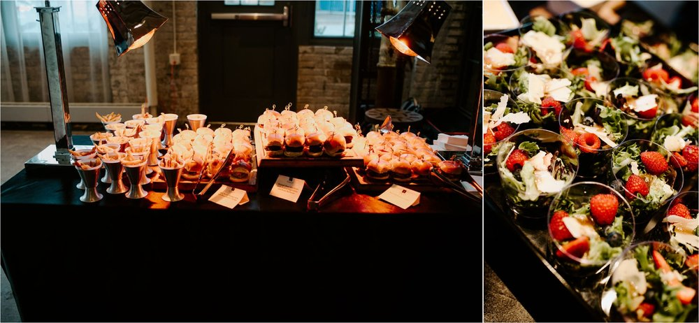 d'amico and sons catering unique wedding food