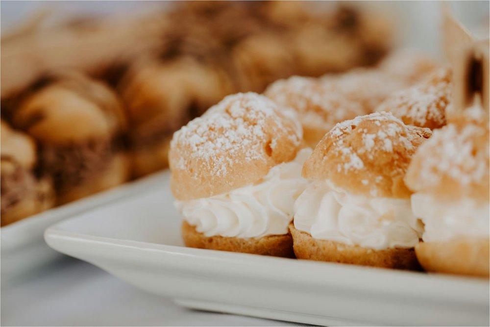 wisconsin cream puff wedding dessert