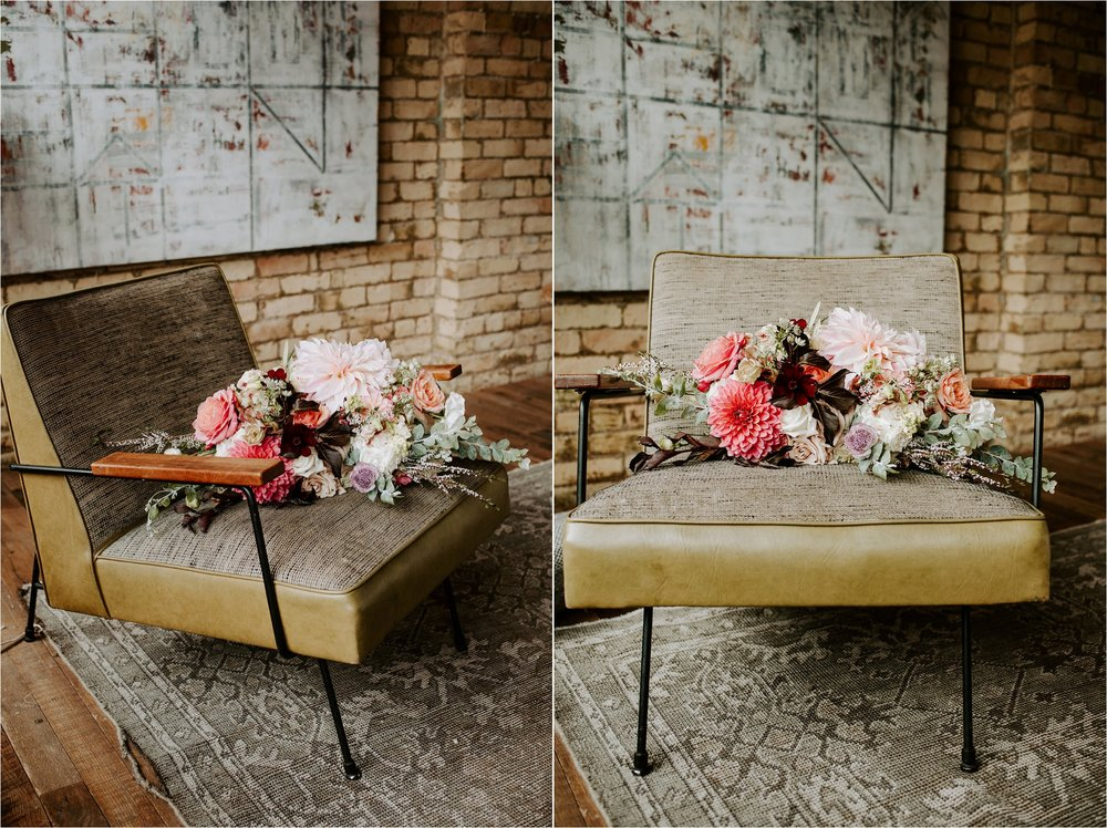 hewing hotel maven floral minneapolis wedding