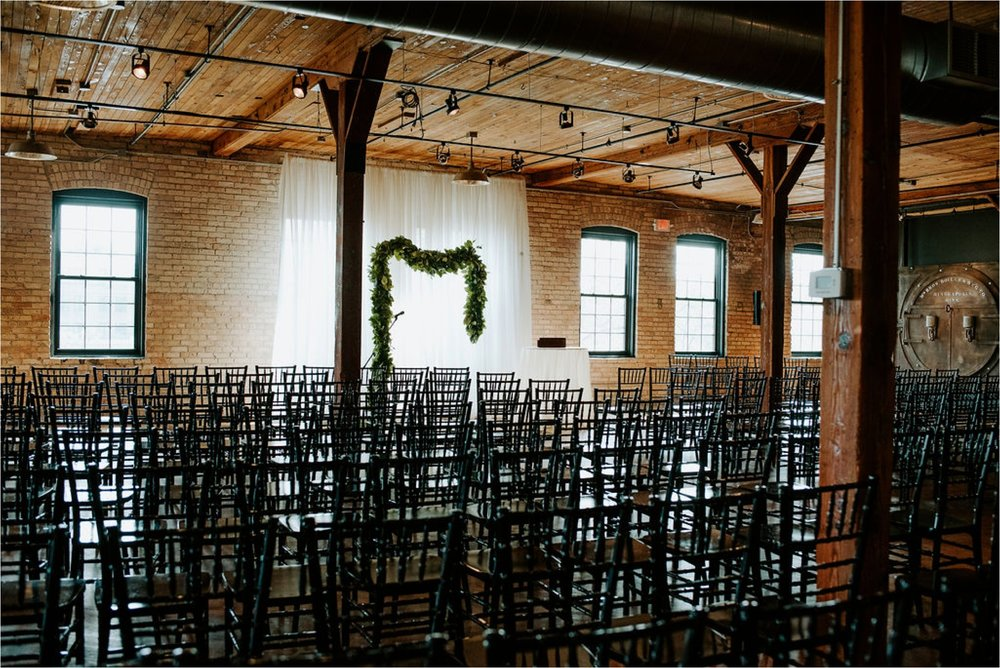 solar arts building wedding ceremony minneapolis