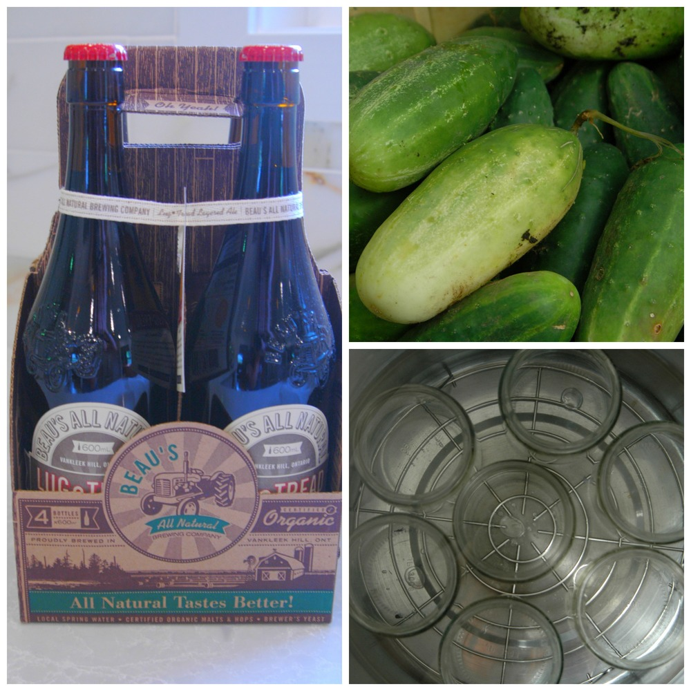 beaus beer honey pickles
