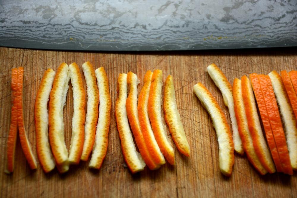 Shredded Seville Orange Peel