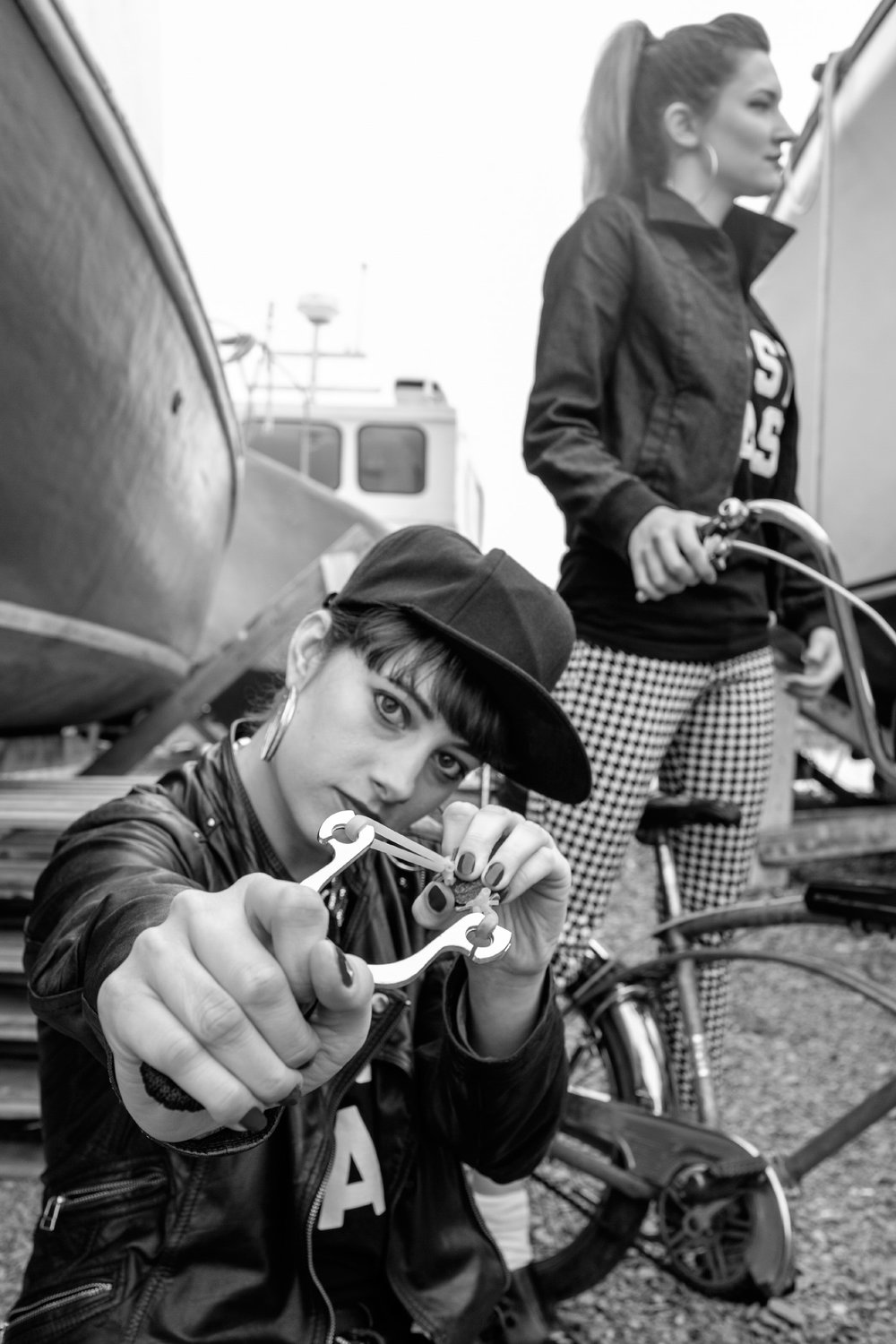 may13 2016-The Girl From Away-EAST COAST girl gang-Fuji X100T-B&W-Sambro NS-photo by Aaron McKenzie Fraser-www.amfraser.com-web-AMCF3302.jpg