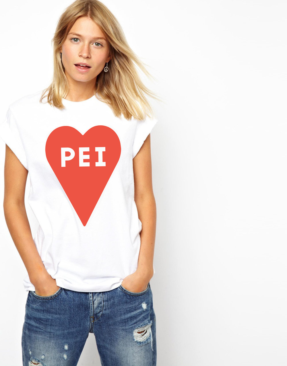 our new PEI Heart Tees are now available to pre-order! -