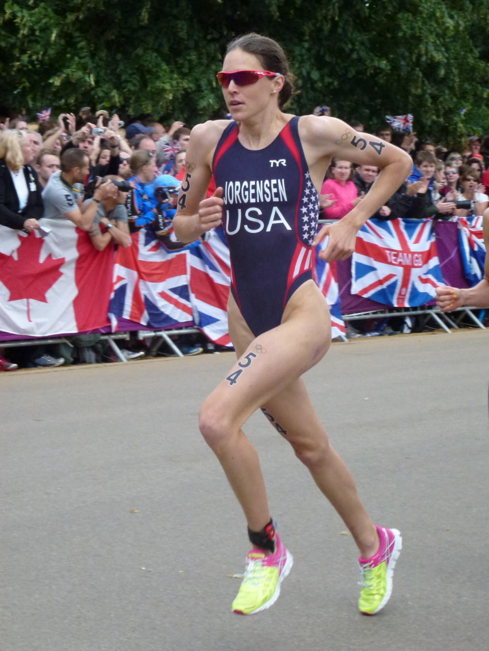 GWEN JORGENSEN 2012 US Olympian