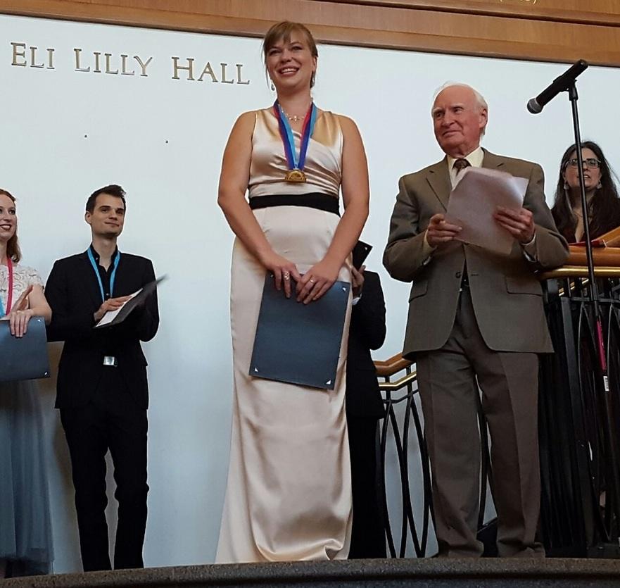 Alexa Raine-Wright   , winner of the 2016 Devona and Amos Gerber Prize.