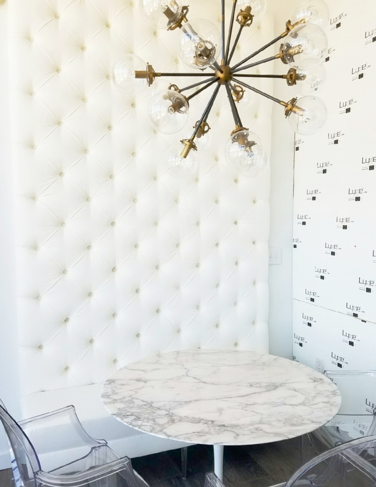 Tufted Wall Installation