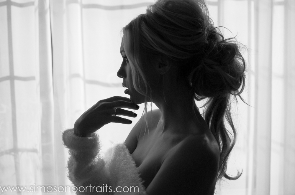 Silhouette Glamour Portrait