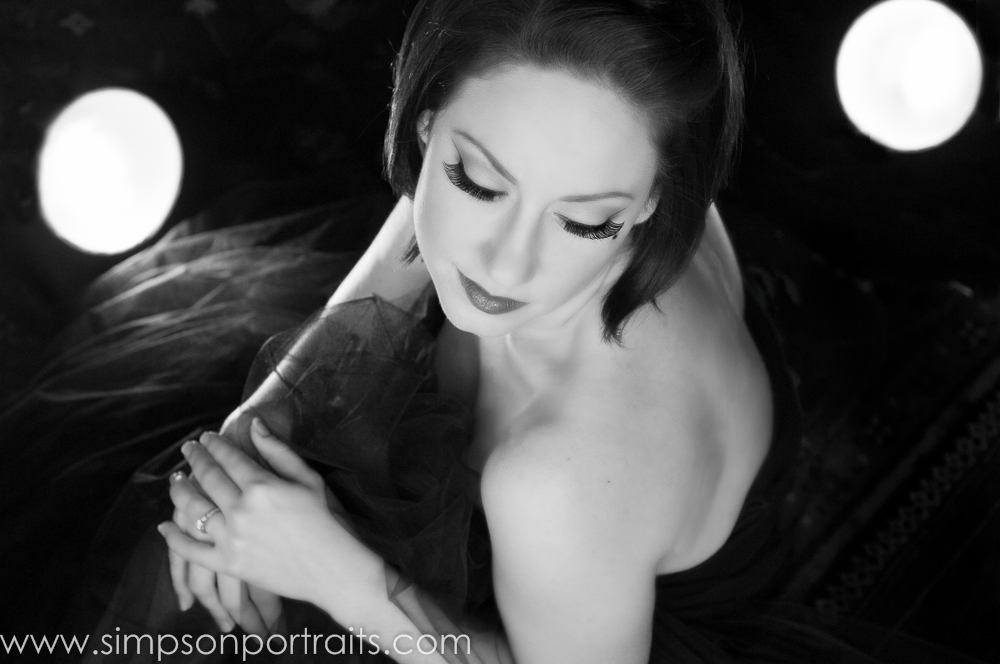 Old Hollywood Glamour Photographer Simpson Portraits