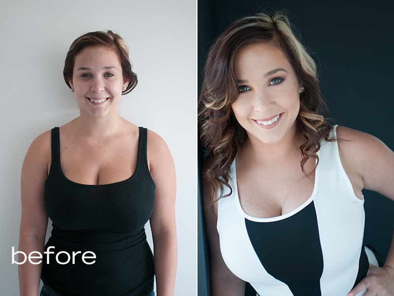 Los Angeles Beauty Portrait Photography Simpson Portraits Before and After  #findyourbeautiful #existinphotos