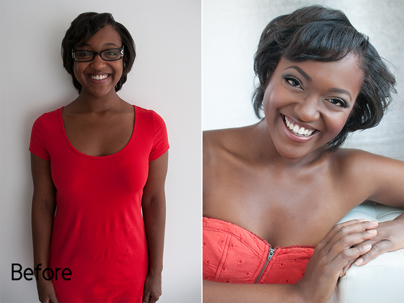Los Angeles Beauty Portrait Photography Simpson Portraits Before and After Glendora  #findyourbeautiful #existinphotos