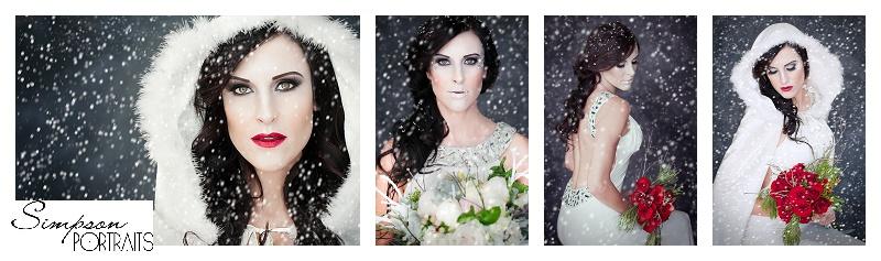Los Angeles Snow Queen Bridal Portraits