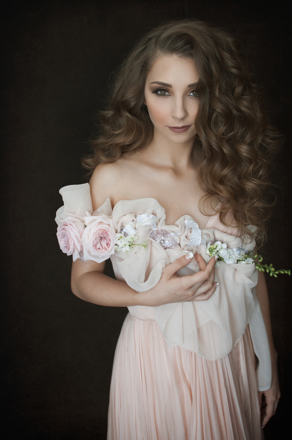 Ceremony Magazine Flower Girl Shoulder Piece