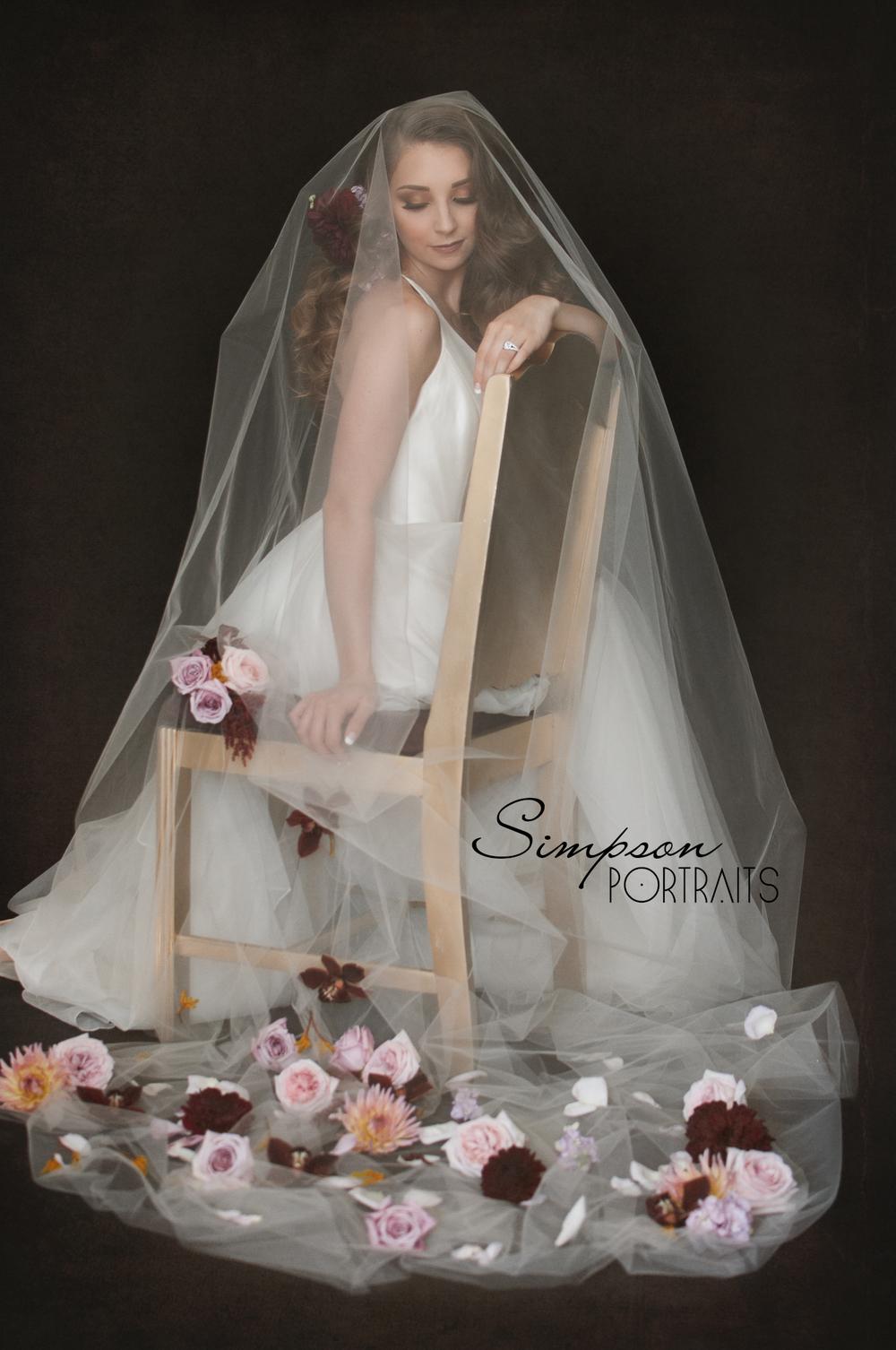Ceremony Bridal Portrait Flower Girl