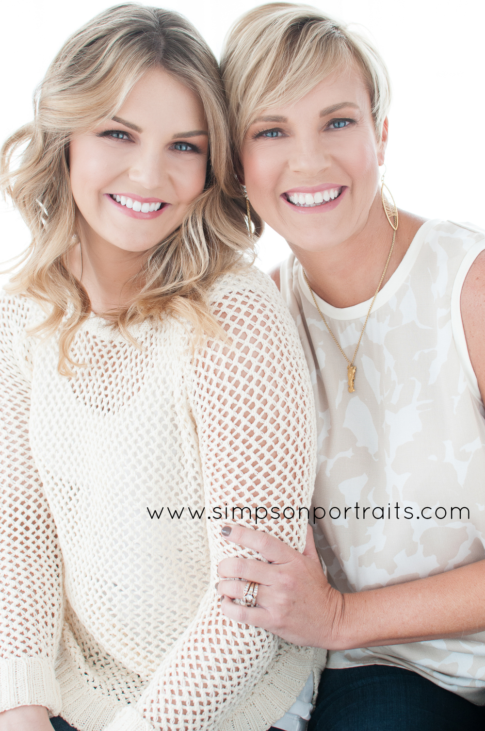 Mother Daughter Portrait Photography