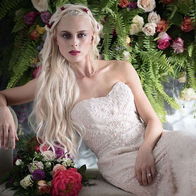 #editorial for @ceremonymagazine and collaboration with model @a_gothamgirl Flowers by @losangelesfloralcouture Gown by @lovellabridal Hair by @juliechristinebeauty Makeup by @Mags cathey