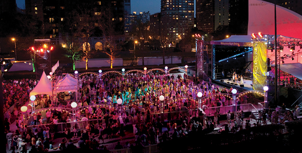 Midsummer Night Swing 2013.  Photo via TimeOut New York