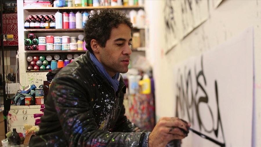 JonOne in his studio.