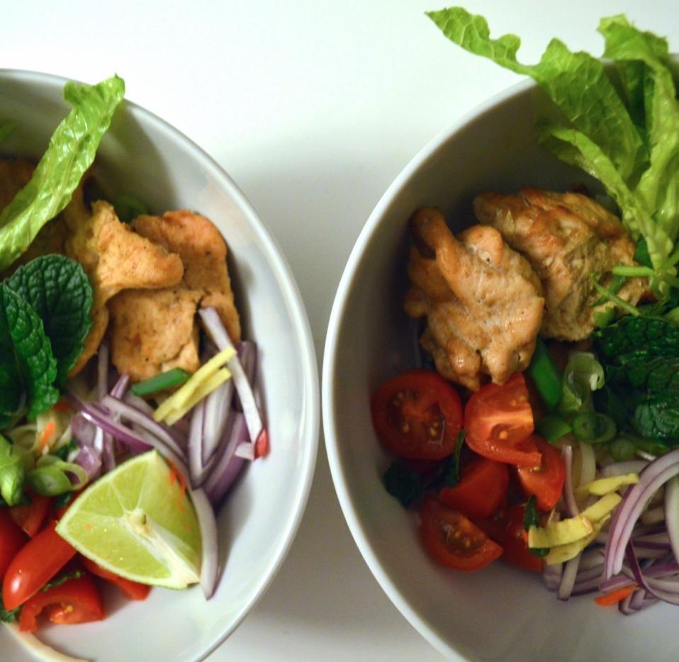 Vietnamese-Noodle-Bowl-Bun-Nuong-Ga-Healthy