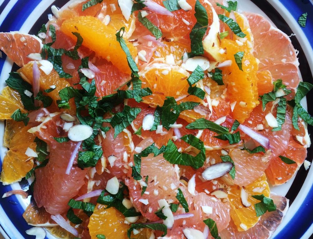 winter-citrus-salad-with-mint-honey-vinaigrette