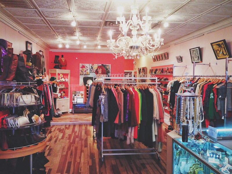 Paper Doll Vintage Boutique. Sayville, Long Island.