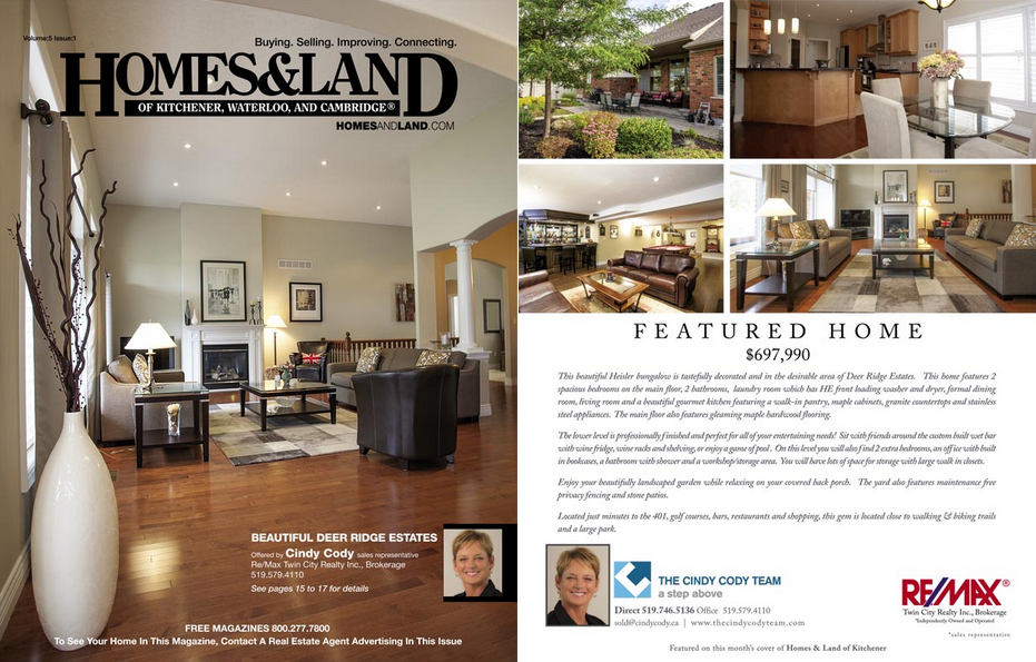 Homes & Land Magazine - Crestina Photography