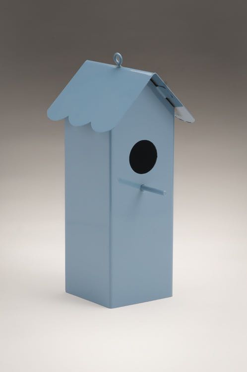 Baby Blue Tall House