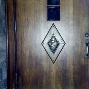 Pin Replica on Door