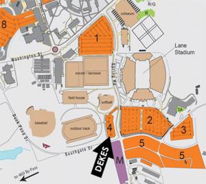 dke tailgate map