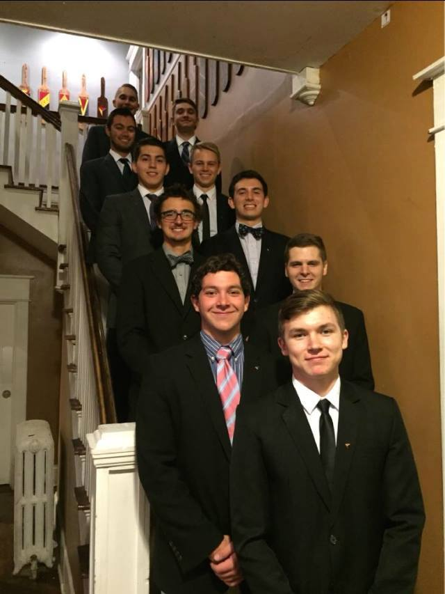 DKE pledge class of Fall 2015