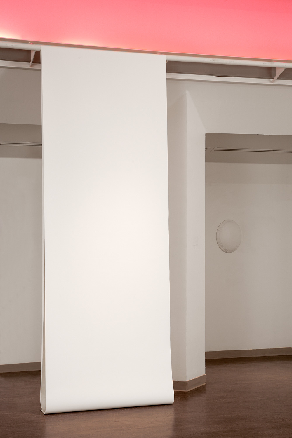 nothing but the memory   paper, wood, light  12'x6'x12'  2013