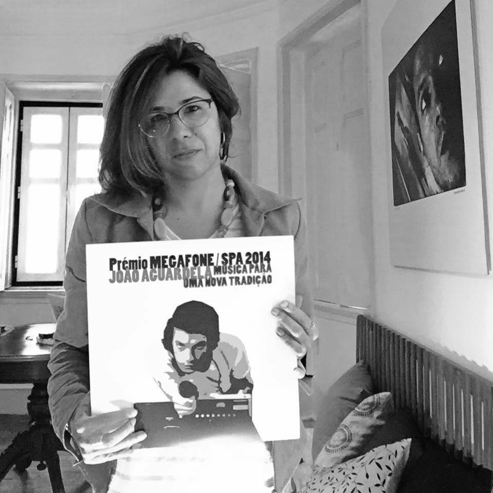 Prémio Megafone Sociedade Portuguesa de Autores 2014   Entrevista da autora e presidente da Associação Mural Sonoro para Doc no prelo (Abril de 2016)   (c) Miguel Freire
