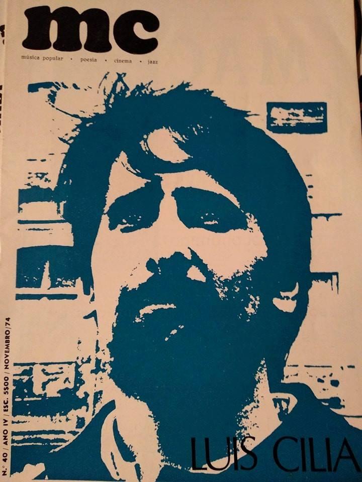 Número 40. Cedido por Avelino Tavares.  Luís Cilia  na capa.