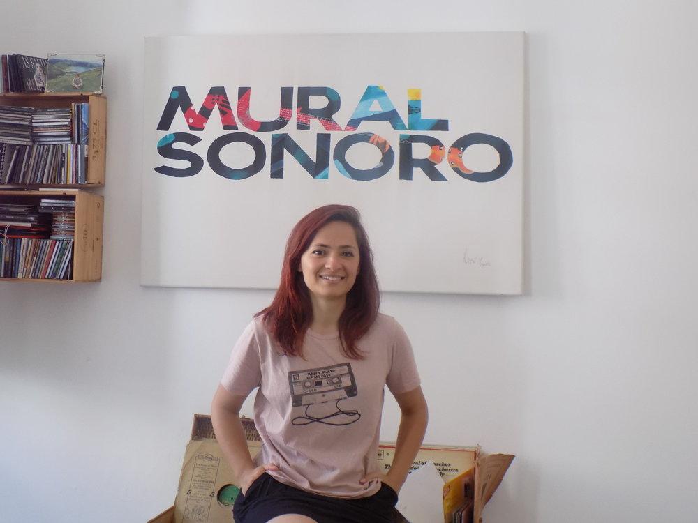 Suse Ribeiro, técnica de som, compositora