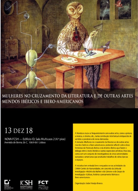 Jornada «Mulheres entre a literatura e as artes plásticas», PQ, 13 Dez. ....jpg