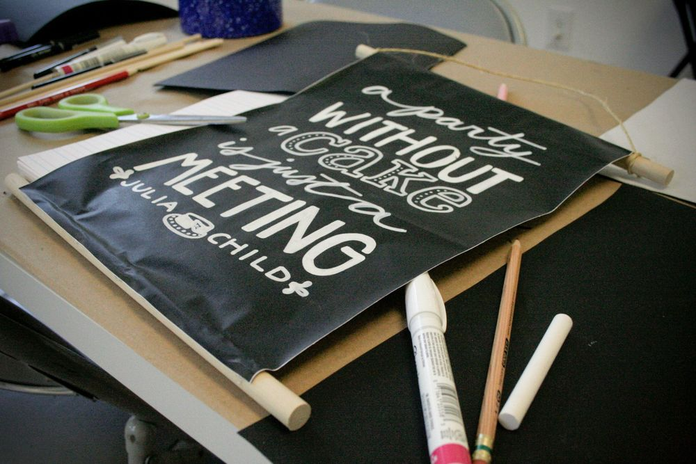 Hand Lettering Workshop at Indie Craft Experience's Craft Escape photo by Katie Bush