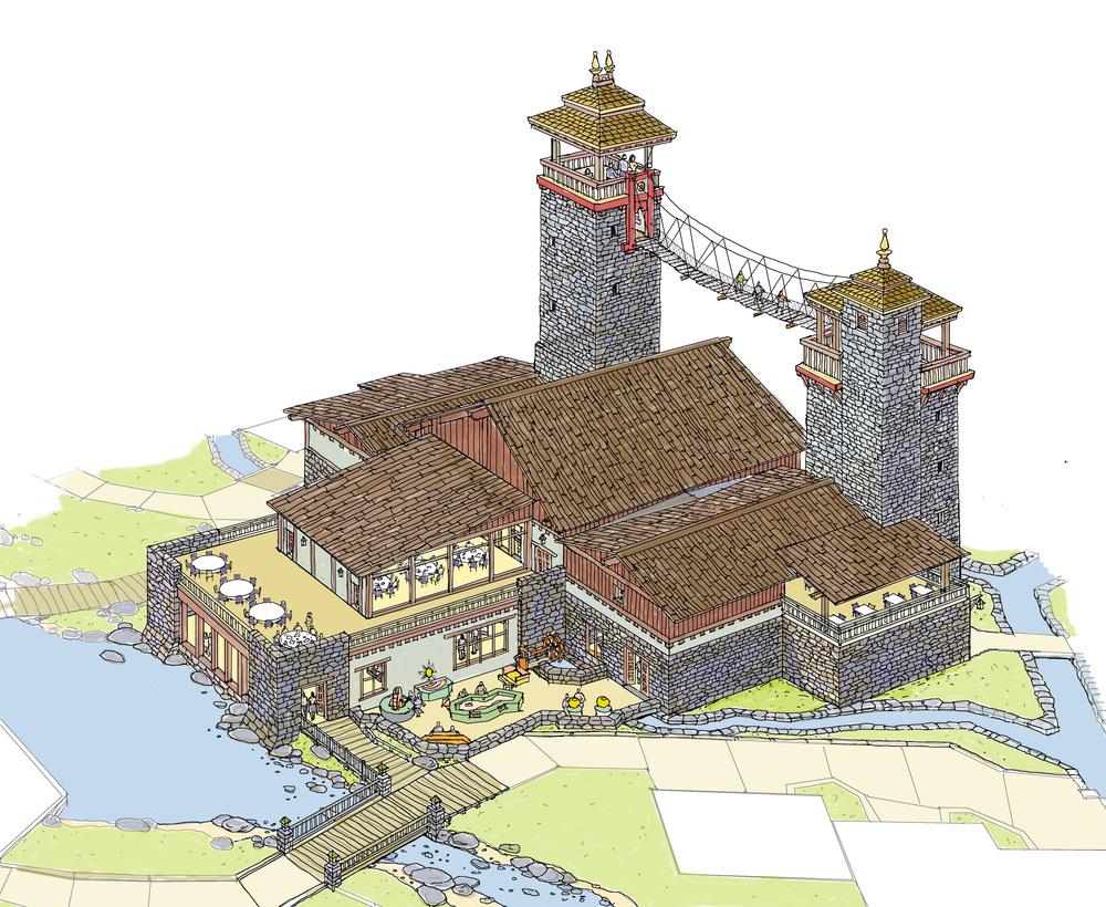 TIbet Tourist Town