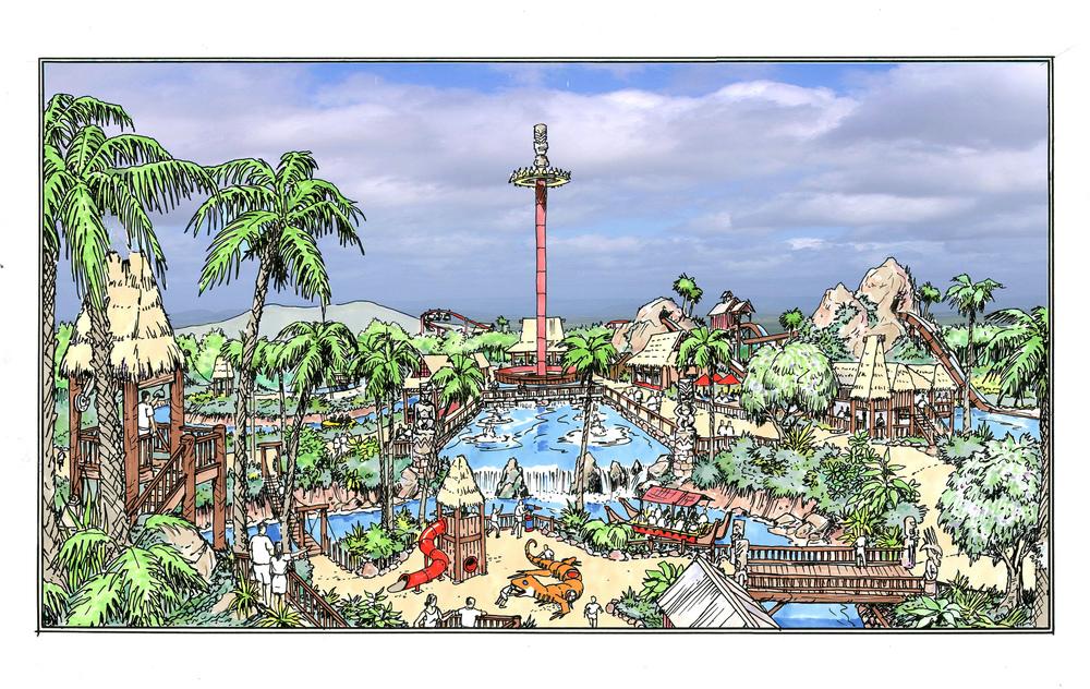 Hawaiian Theme Park
